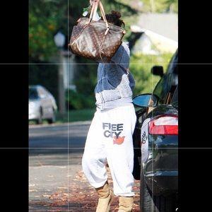 freecity sweatpants | free city joggers celebrity